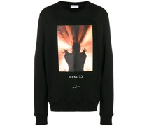 "Sweatshirt mit ""Closed""-Print"
