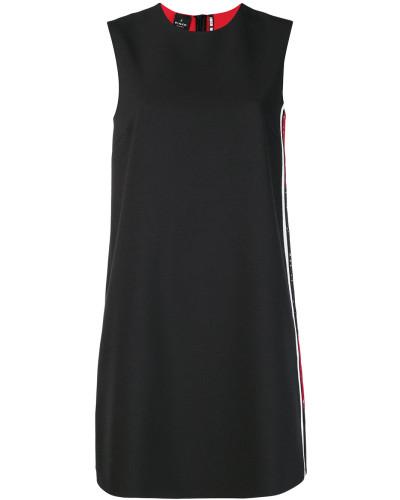 Kleid mit kontrastfarbigem Träger