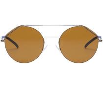 Runde 'FendiFiend' Sonnenbrille