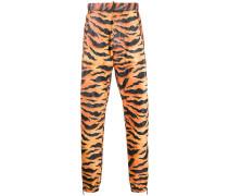 Jogginghose mit Tiger-Print