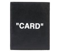Kartenetui mit Zitat
