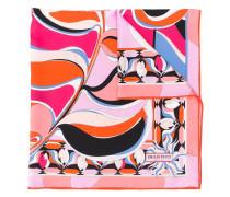 Schal mit psychedelischem Muster