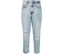 Boyfriend-Jeans in Acid-Wash-Optik