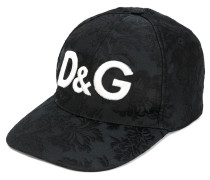 logo jacquard baseball cap