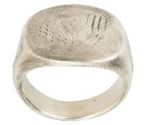 Ovaler Ring aus Sterlingsilber