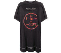 'The Future is Here' Oversized-T-Shirt