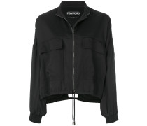 relaxed fit bomber jacket