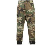 Hose mit Camouflage-Hose