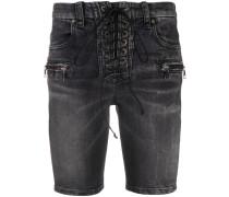 Schmale Jeansshorts