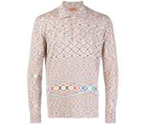 Poloshirt mit abstraktem Muster