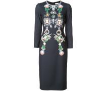 'Naomi' Kleid mit Schmuckstein-Print