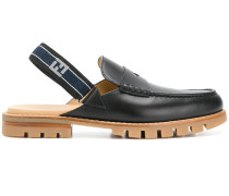 slingback strap loafers
