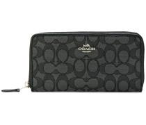 zip around logo wallet