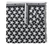 Schal mit Stern-Print