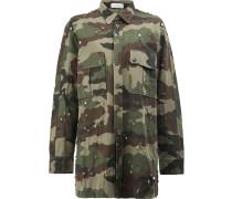 Langes Camouflage-Hemd