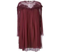 Kleid mit Guipure-Spitze
