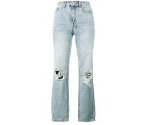 'The Slim Pin' Jeans mit hohem Bund