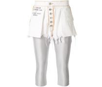 Shorts mit Knöpfen