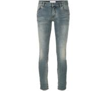 Jeans mit ausgewaschenem Effekt
