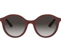 Runde Oversized-Sonnenbrille