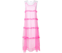 P.A.R.O.S.H. tulle layered maxi dress