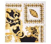 Schal mit barockem Print