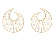 24kt vergoldete 'Venus' Ohrringe
