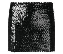 Minirock mit Paillettenstickerei