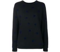 Sweatshirt mit Schwalbenmuster