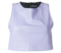 Perforiertes Cropped-Top