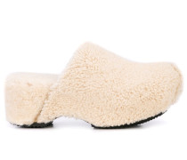 Clogs mit Shearling