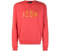 """Sweatshirt mit """"Icon""""-Stickerei"""