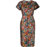 Schmales Brokat-Kleid