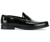 Penny-Loafer aus Lackleder