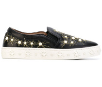 'Cosmic Pearls' Slip-On-Sneakers