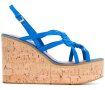 Valia woven wedge sandals
