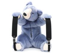 Rucksack im Teddy-Design