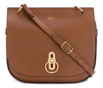 pebbled twist-lock handbag