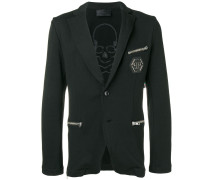 zip pocket blazer