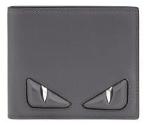 bi-fold wallet with inlays