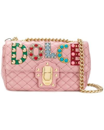 Besuchen Günstigen Preis Dolce & Gabbana Damen Gesteppte 'Lucia' Schultertasche Steckdose Neu tsEOcj