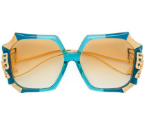 butterfly embellished sunglasses