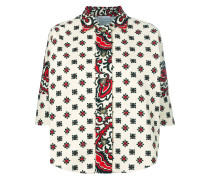 floral embellished jacket