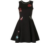 Kleid mit Logo-Patch