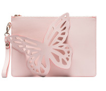 Flossy Butterfly Clutch Bag