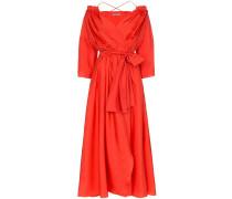 'Tessa' Wickelkleid aus Seide