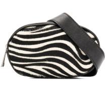Gürteltasche mit Zebra-Print