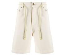 Jeans-Shorts mit Kordelgürtel