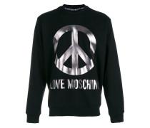 Sweatshirt mit Friedenssymbol