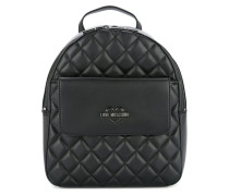 small quilted backpack